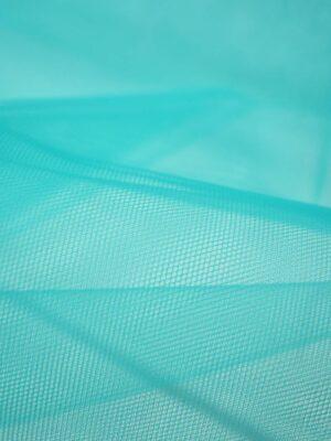 Фатин сетка бирюзового оттенка (2233) - Фото 11