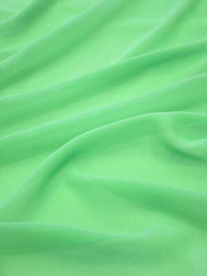 Креп шифон салатовый (2247) - Фото 18