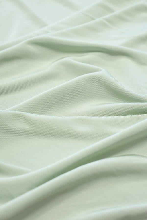 Трикотаж холодная вискоза светлая мята (2262) - Фото 6