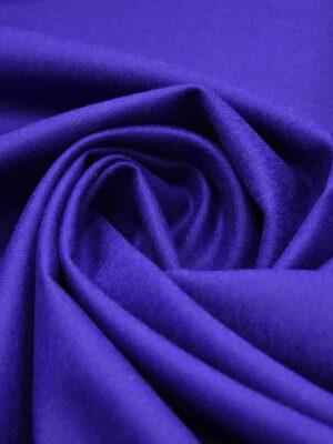 Костюмная шерсть кашемир сине-фиолетовый (3382) - Фото 11