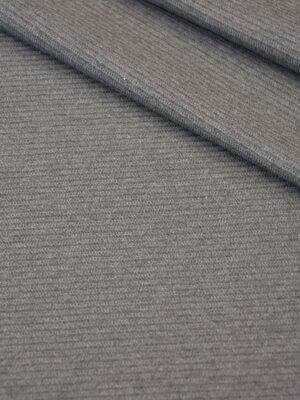 Трикотаж вискоза двухсторонний серый (4187) - Фото 15