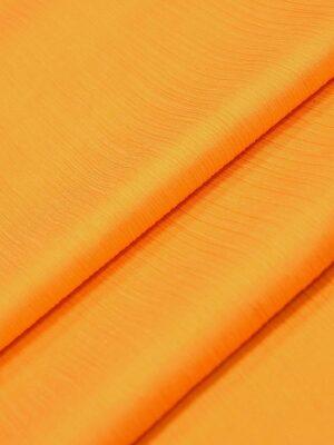 Крепон хлопок с шелком креш оранжевый (4297) - Фото 14