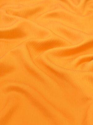 Крепон хлопок с шелком креш оранжевый (4297) - Фото 13