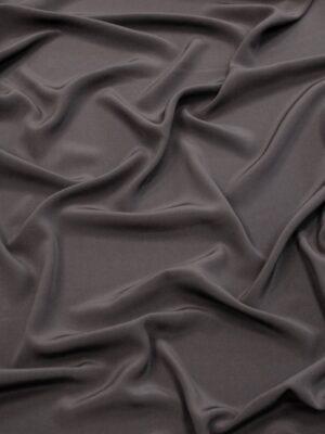 Крепдешин шелк коричневый (4300) - Фото 12