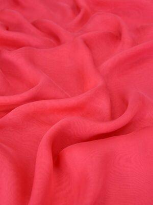 Шифон шелк яркий ягодно-розовый оттенок_01