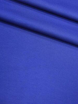 Джерси трикотаж punto milano тонкий плотный красивый цвет синий электрик (4311) - Фото 13