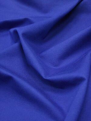 Джерси трикотаж punto milano тонкий плотный красивый цвет синий электрик (4311) - Фото 12