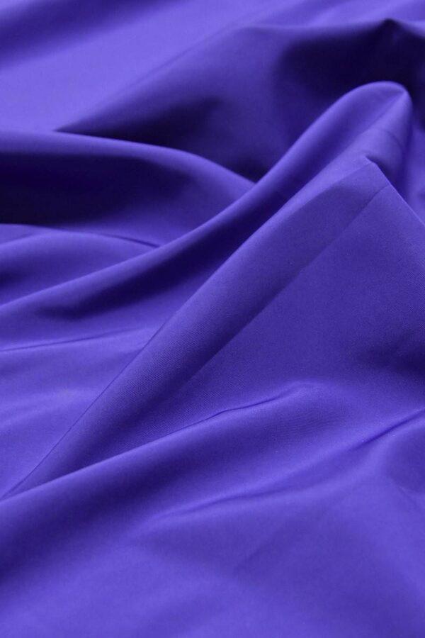 Плащевая ткань синяя с фиолетовым оттенком (4649) - Фото 6
