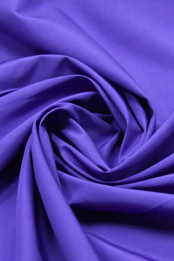 Плащевая ткань синяя с фиолетовым оттенком (4649) - Фото 7