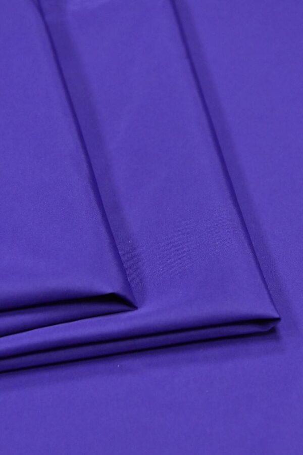Плащевая ткань синяя с фиолетовым оттенком (4649) - Фото 8