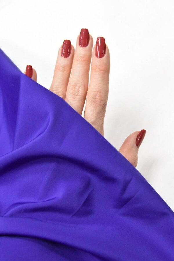 Плащевая ткань синяя с фиолетовым оттенком (4649) - Фото 9