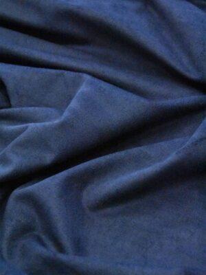 Экозамша стрейч темно-синий оттенок (4898) - Фото 14