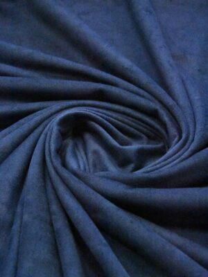 Экозамша стрейч темно-синий оттенок (4898) - Фото 15