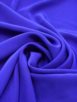Креп синий электрик (4967) - Фото 10