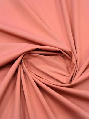 Хлопок стрейч плотный пыльная роза (5070) - Фото 10