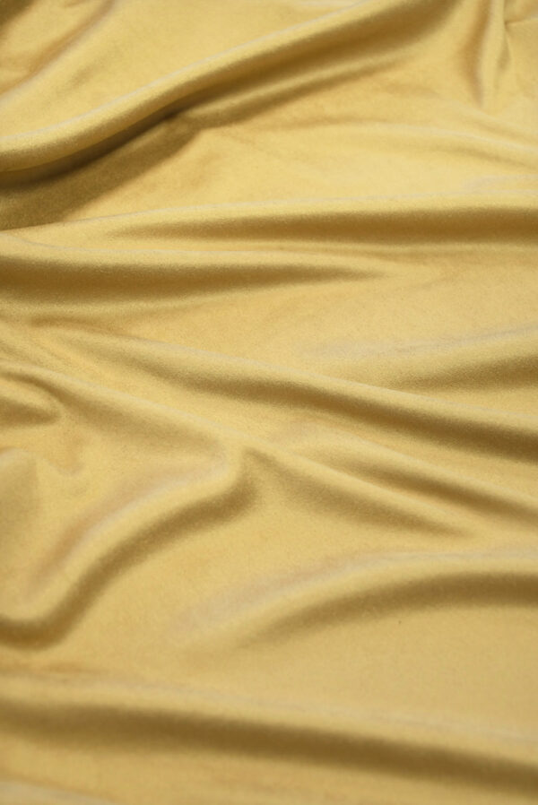 Экозамша стрейч бежевый оттенок (5079) - Фото 6