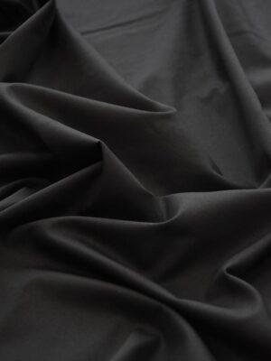 Хлопок стрейч костюмный черный (5095) - Фото 16