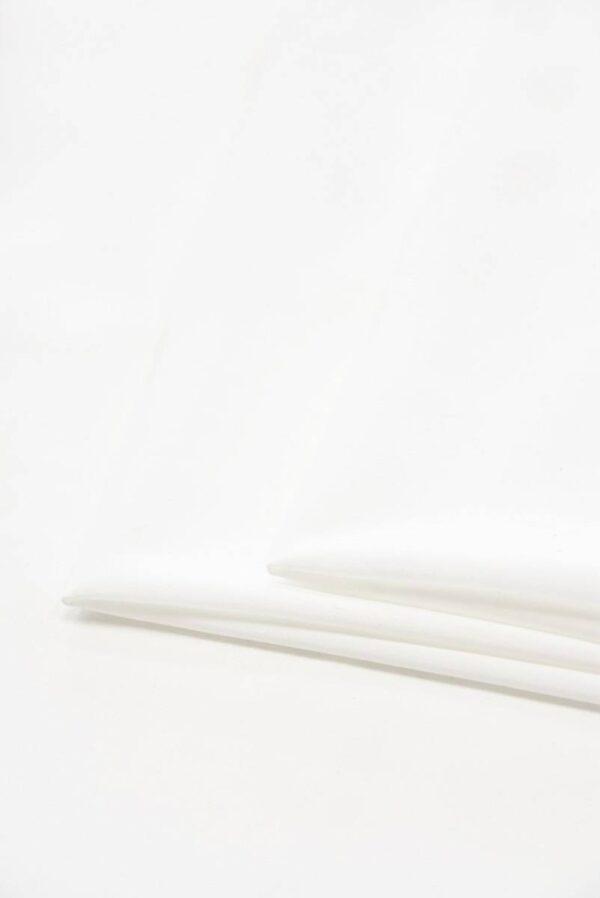 Креп тонкий плательный белый (5111) - Фото 8