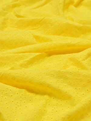 Шитье желтого оттенка в мелкий цветочек (5340) - Фото 17
