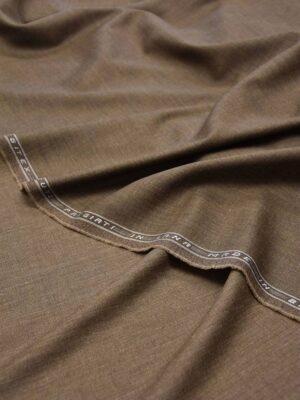 Костюмная шерсть коричневый меланж (5667) - Фото 13