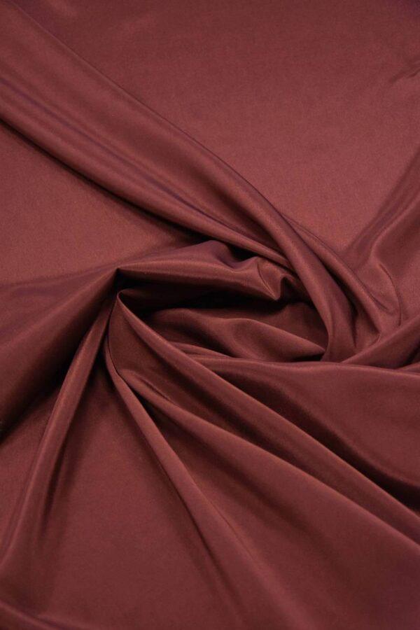 Подкладочная ткань стрейч бордовый оттенок (5732) - Фото 7