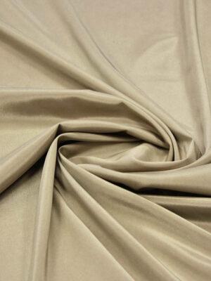 Подкладочная ткань стрейч оттенок теплый беж (5738) - Фото 13