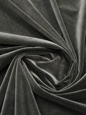 Микро вельвет дымчатый костюмно-плательный (5770) - Фото 16
