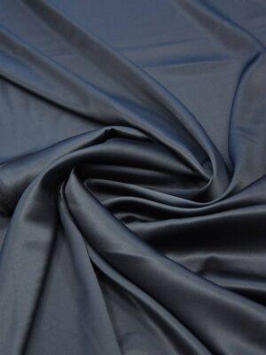 Шелк стрейч атласный чернильный (5957) - Фото 12