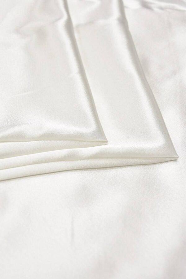 Атлас молочный с глянцевым блеском (5995) - Фото 8