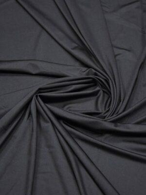 Подклад трикотажный черный матовый (6007) - Фото 9