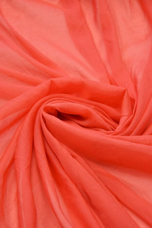 Батист кораллового оттенка (6175) - Фото 8