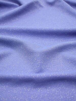 Джерси трикотаж голубой с люрексом (6562) - Фото 14