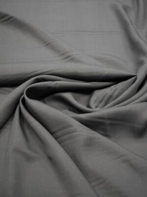 Костюмная вискоза темно-серая (6693) - Фото 15