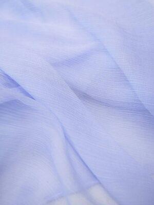 Шифон шелк креш светло-голубой с сиреневым оттенком (6736) - Фото 12