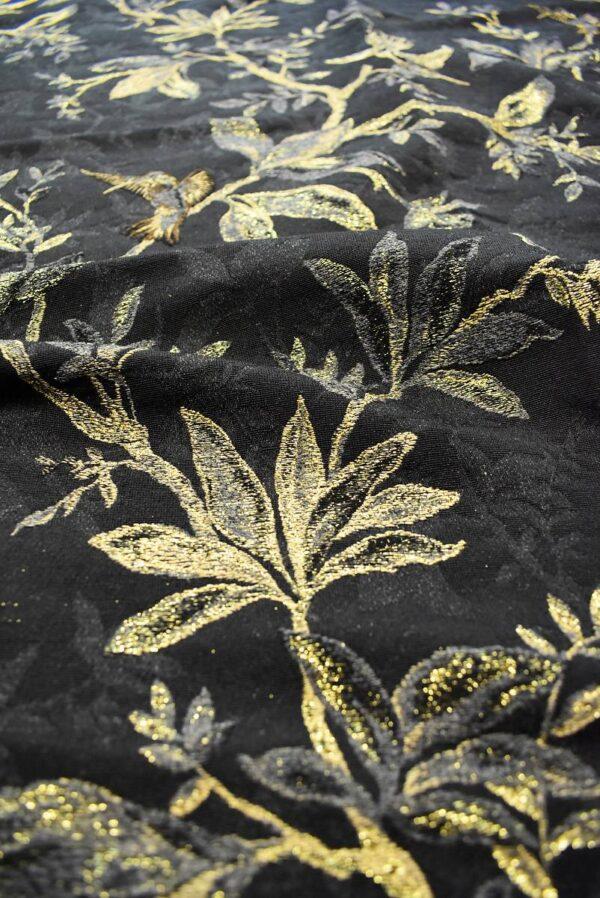 Гобелен шерсть с золотыми веточками и птицами (6752) - Фото 9