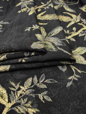 Гобелен шерсть с золотыми веточками и птицами (6752) - Фото 11