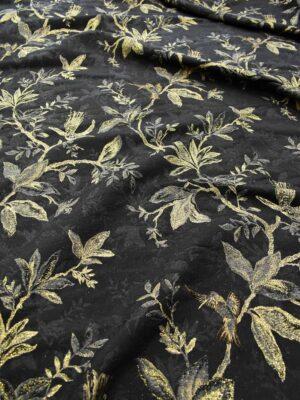 Гобелен шерсть с золотыми веточками и птицами (6752) - Фото 10