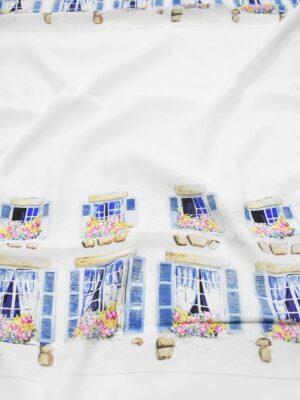 Штапель купон традиционный узор вышиванки (7355) - Фото 16