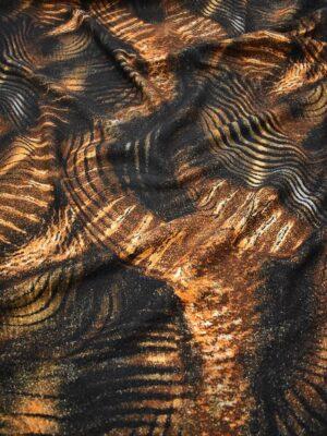 Букле шерсть с тигровым рисунком (7366) - Фото 14