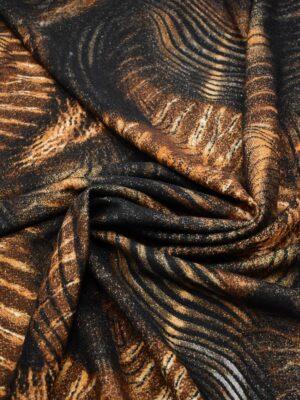 Букле шерсть с тигровым рисунком (7366) - Фото 15