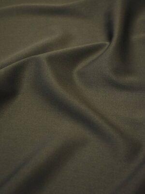 Костюмная вискоза стрейч темно-оливковый оттенок (7398) - Фото 17
