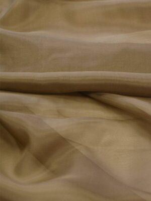 Органза шелк оттенок donkey brown (7515) - Фото 18