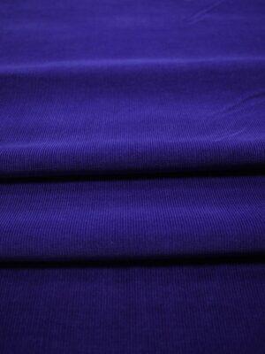 Микро вельвет темный сине-фиолетовый оттенок (7527) - Фото 14