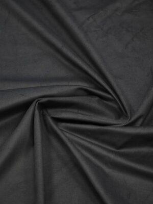 Микровельвет оттенок темный графит (7528) - Фото 16