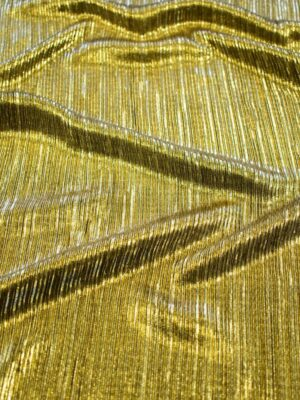 Плиссе с глиттером золотой оттенок (7653) - Фото 13