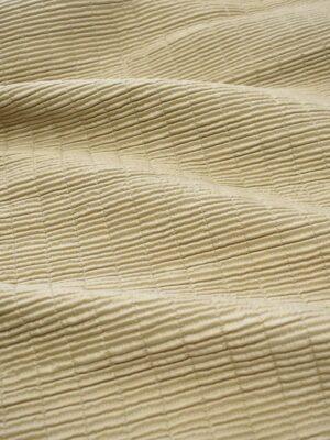 Курточная стежка бежевая жатая (7891) - Фото 13