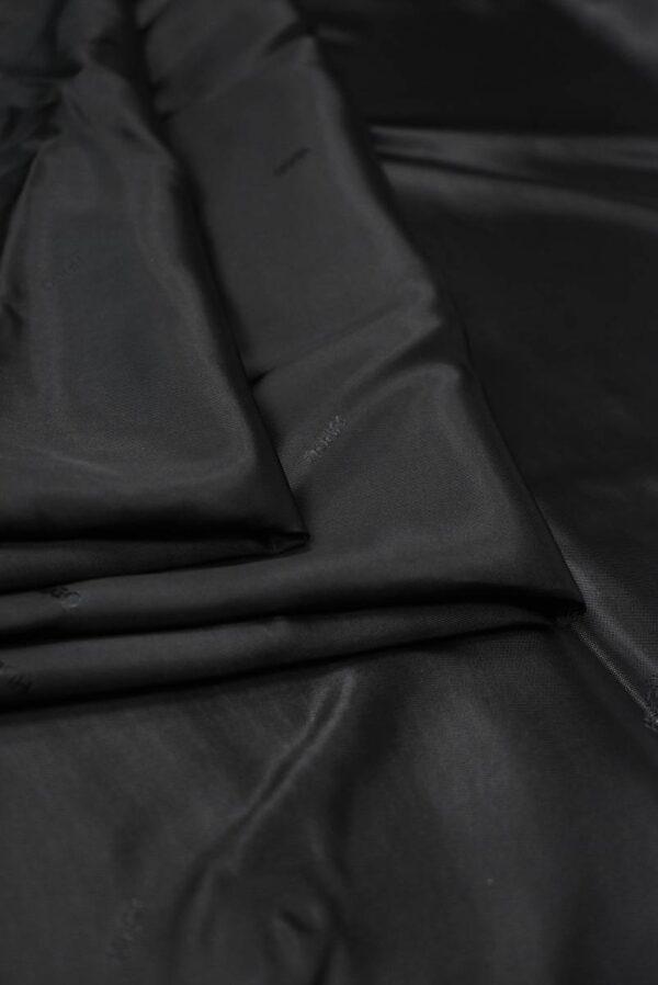Подклад черный с мелкими надписями (7893) - Фото 8