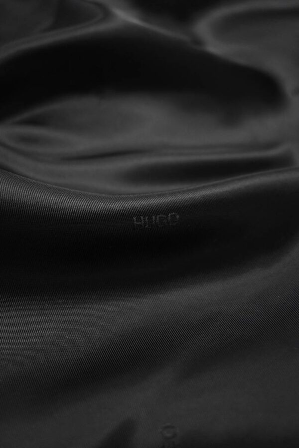 Подклад черный с мелкими надписями (7893) - Фото 9