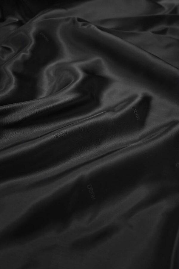 Подклад черный с мелкими надписями (7893) - Фото 6