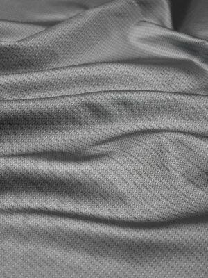 Подклад жаккардовый серый в мелкий узор (7904) - Фото 16